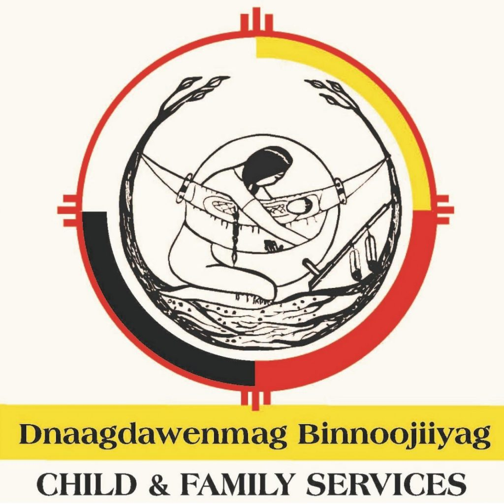 Click here to visit the Dnaagdawenmag Binnoojiiyag Child and Family Services website.